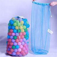 ball storage net - Kids Ball Storage Net Bag Toy Net Multi Purpose Toys Organizer