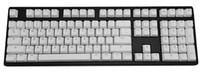 Wholesale 104 keys double shot PBT solid colour keycaps for cherry mx mechanical keyboard