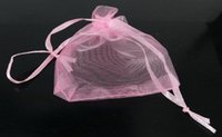 Wholesale LUXURY Organza Christmas Gift Bags Jewellery Pouches XMAS Wedding Party Candy Favour Have time limited