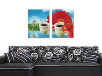beijing teas - unframed Pieces Home decoration Canvas Prints tea Chrysanthemum Dandelion Wooden boat waterfall Lotus a Beijing opera actor
