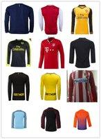 arsenal long sleeve away soccer - Mixed buy PGA Arsenal Bayerned Munich Dortmund Atletico Manchester City Home Away rd Long sleeves Soccer Jerseys KUN AGUERO DE