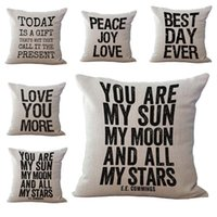 best inspirational quotes - Best Day Love Your More Follow Your Heart Inspirational Quote Pillow Case Square Throw Cushion cover Pillowcase linen cotton Cover