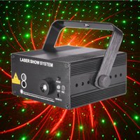 Wholesale 150MW Patterns Lens Led Stage Lighting Laser Projector Show Dj Party Disco Club Bar Lighting