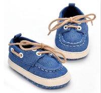 Las novedades de la moda de bebé zapatos de encaje prewalker del niño del niño del bebé inferiores suaves alpargatas de asa cordón de zapato para niños