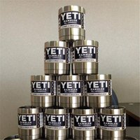 Wholesale Yeti lowball oz yeti rambler lowball yeti coolers cooler cup mug stainless with YETI logo retail box high quality high copy up