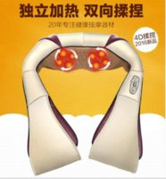 acupuncture neck pillow - Multifunction health care car home pillow massager acupuncture kneading heating neck shoulder massager anti cellulite