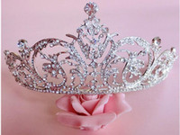 act types - Baroque big crown the queen diamond hair act the role ofing is tasted European princess bride headdress wedding luxury accessories
