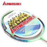 Wholesale g Super Light U Genuine Kawasaki Badminton Racket Lightness Men And Women All Carbon Badminton Racquet
