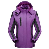 Wholesale Autumn Women Sports Outdoor Hooded Warm Softshell Winter Waterproof Hiking Camping Jacket Fishing Clothes WindstopperJackets