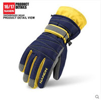 Wholesale winter ski gloves thick men and women children cycling gloves waterproof skiing gloves