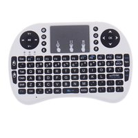 Wholesale Rii I8 Mini Wireless Keyboard Air Mouse Multi Media Remote Control Touchpad Handheld For TV BOX Android Mini PC Pad Xbox360 PS4