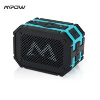 Wholesale Mpow Armor Bluetooth Speaker Passive Loudspeakers Portable Waterproof Outdoor Shower MP3 Speakers Power Bank for iPhone Xiaomi