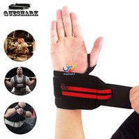 Wholesale Weight Lifting Sports Wristband Gym Wrist Thumb Support Straps Wraps Bandage Fitness Training Safety Hand Bands