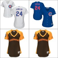 dexter - Cheap Authentic Chicago Cubs Womens Dexter Fowler jerseys Cubs Baseball Jersey Shirt Lasies Embroidery Logos Stitched Size S XL