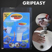 Wholesale 2016 GRIPEASY GRIPEEZ Removable Indoor Outdoor Double Sided Super Grip Magic stick Mounting Pads Strong non slip stickers Easy Washable