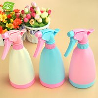 algae colors - 1PC Candy Colors Mini Decorative Watering Can Plant Watering Pot Bottle Plastic Flower Sprayer