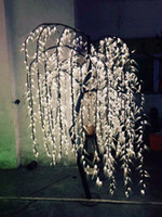 Wholesale Free ship LED Willow Tree Light LED LEDs FT WHITE Color Rainproof Indoor or Outdoor Use