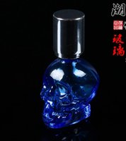 alcohol types - Crystal Skull portable alcohol lamp glass hookah smoking pipe Glass gongs oil rigs glass bongs glass hookah smoking pipe vap vaporize