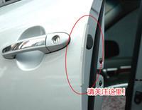 auto door sill guards - 8pc set Auto Car Door Guard Edge Corner Bumper Guards Buffer Trim Molding Protection Strip Scratch Protector Car Door Crash Bar