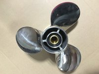 Wholesale Stainless Steel Propeller For HP HP HP Nissan Tohatsu Outboard Propeller Size x11 same solas