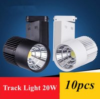 Wholesale LED Track Light W COB Rail Light Spotlight strip Equal to w Halogen Lamp v v v v v Track Lamp Rail Lamp Bulb