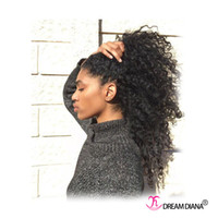 Wholesale Popular Hairstyle European Hair Extensions Kinky Curly Virgin Hair Bundles Women Hair Extensions Natural Very Thick End No Tangle