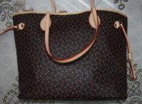 Wholesale Fashion Hot sale Neverfulls medium check Shoulder bags women plaid print shoulder bags handbags Top quality