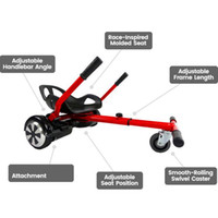 Wholesale Newest HoverSeat Hoverkart for inch hoverboard accessories smart electric scooter Go Karting Karting Kart for adults kids