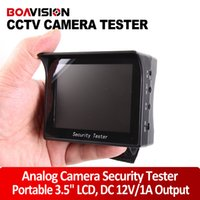 Wholesale 3 quot TFT LCD CCTV tester camera CCTV Tester Video Tester Analog Camera Security Monitor V A Output