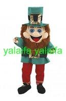 adult leprechaun costume - EVA Material Helmet Customade Adult Size High quality Leprechaun Mascot Costumes cartoon Apparel Unisex