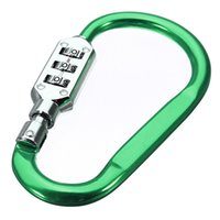 Wholesale Top Quality Portable Luggage Padlock Dial Bag Suitcase Security Travel Combination Lock Lowest Price