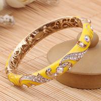 beautiful wife - Female Korean folk style bracelet bracelet fashion double fine crystal bracelet meaning beautiful wife send my mother a gift