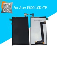 acer oem parts - 4 Inch OEM LCD Display Touch Screen Digitizer Sensors Replacement Parts For Acer E600 High Quality With Free Gift