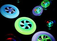 Cheap LED Light Spin Flywheel Outdoor Toy Best Flying Saucer Disc Frisbee toy