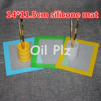 Wholesale Custom Silicone Baking Mat mm inch silicone BHO Wax Dab Pad Wax Mat