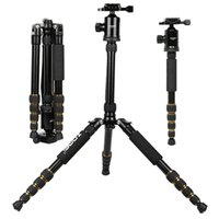 aluminum digital frame - 2016 NEW Tripod Micro SLR Camera Traveling Convenient Triangle Frame SLR Photography Tripod Aluminum Alloy Carbon Fibre black