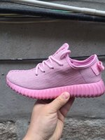 Wholesale Adidas original NEW Stock New release color Oxford Tan Yeezy Boost Mens Shoes Kanye Milan West Yeezy Boost send with box