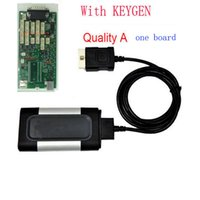 Cheap Wholesale-Quality A+++ one Single green board CDP Pro 2015 Plus with Keygen without bluetooth for car and truck OBD2 Diagnostic Scaner