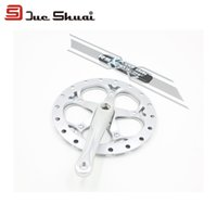 Wholesale Silver Bicycle Crankset Crank T mm MTB Bike ChainWheel Suit For Mountain Bicycle Cycling Parts Original Brand