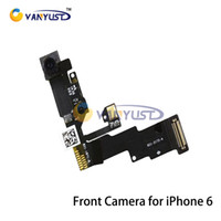 Wholesale High quality New Light Proximity Sensor Flex Cable with Front Facing Camera with Microphone Assembly for iPhone inch