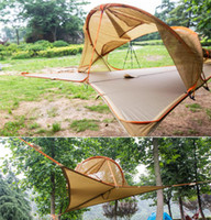 Wholesale 2016 New Hotest American Tree Tent Insect Prevention Jungle Person New Connect Hanging Hammock Hiking Camping Outdoor