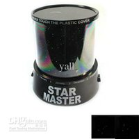 Wholesale Colourfu Stars Cosmos Laser projector Star Projector Creative Toy New Ship From USA J3116