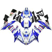 Wholesale Injection ABS Fairings For Yamaha YZF R1 YZF R1 ABS Motorcycle Kit Bodywork Motorbike Cowlings FIMER Blue White