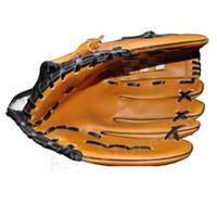 baseball football player - Baseball Gloves New Portable Dark Brown Durable Men Softball Baseball Glove Sports Player Preferred inch