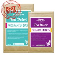 Wholesale Organic Herbal Detox Slimming Weight Loss Colon Cleanse Kidney Cleanse Skinny Tea day Teatox program day program V1