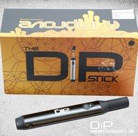 Cheap 2016 Wax Consistency Vaporizer Pen dipstick wax oil smoking electronic cigarette puff wax concentrate e dab vaporizer kit