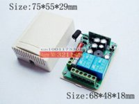 Wholesale AC V CH RF Wireless Remote Control Switch System MHZ waterproof Transmitter And Receiver