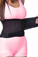 belly plus size - Plus Size Body Shaper Tummy Girdle Belt Waist Trainer Thermal Slimming Waist Trimmer Belt Fitness Fat Burning Postpartum Belly Band