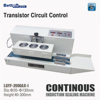 Wholesale LGYF AX I AX II Transistor Circuit Control Continuous Induction Sealer Electromagnetic induction sealing machine suit mm dia