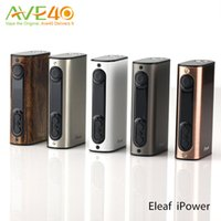 adding functions - Authentic Eleaf iPower W TC Mod mah Battery Firmware upgraded Latest Firmware Newly Added Reset Function DHL